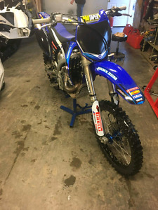 2009 Yamaha YZ450F With lots of extras and aftermarket