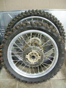 ICE TIRES FOR KX100