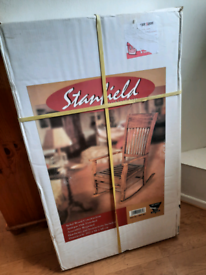 Solid wood rocking chair (New)