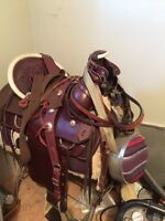 New saddle and accessories for sale...