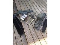 Nash carp fishing scope rods / net
