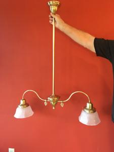 Solid Brass Custom LIght Fixture