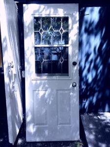 Steel Storm Door