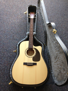Simon & Patrick Acoustic Guitar w/ A3T Electronics for Sale