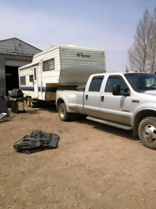Terry Fifth Wheel camper