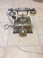 Ornate Rotary Telephone (Fully Functional)