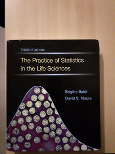 THE PRACTICE OF STATISTICS FOR LIFE SCIENCES 3RD EDITION