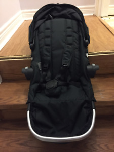 Baby Jogger city select black seat only