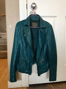 Muubaa leather jacket (new)