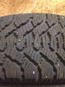 Goodyear Nordic Snow tires 205 55 15 NEW! Only 100 km! Regina Regina Area image 1