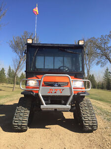 2014 Kubota RTV1140 Four Seater c/w Cab - Mint Condition