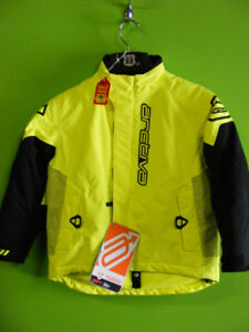 Kids - Arctiva Jacket - Size 7 to 8 - High Viz - NEW at RE-GEAR
