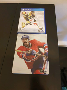$15 NHL 15 with Steel Book Case OBO