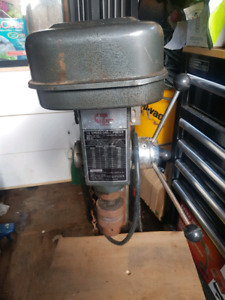Drill press and tablesaw