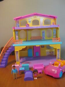 DORA THE EXPLORER PLAYTIME FISHER PRICE HOUSE