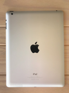 iPad 4th Generation 16GB (White Front)