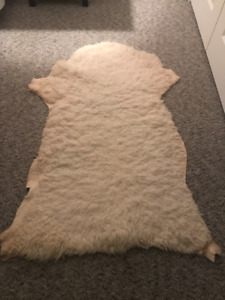 Real Sheep Skin Rug