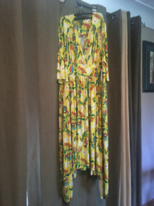 MELISSA MCCARTHY SUMMER LONG DRESS 3XL $25.00 NWT
