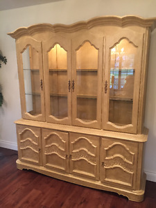 Antique Dining Room Hutch - Kauffman Fine Furniture -