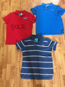 Hollister and American Eagle Short and Long-Sleeved Polo Shirts Windsor Region Ontario image 2