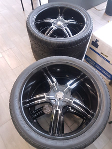 Tires rims mags