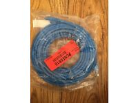15 x RJ45 Ethernet cables available