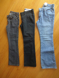 Gap and Tommy Hilfiger Jeans - size 4
