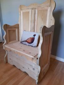 Monk seat. Needs gone ASAP
