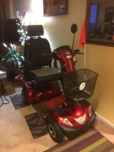 Invacare Pegassis 4 wheel Scooter