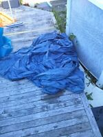 intex 18 foot pool cover never used