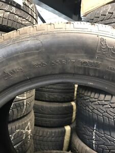 235-55-17 winter tires only 2