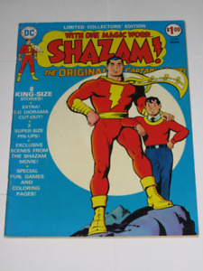 DC Limited Collector's Edition Shazam! comic book