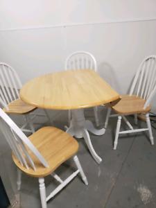 Table de cuisine Flip Flop 4 chaises