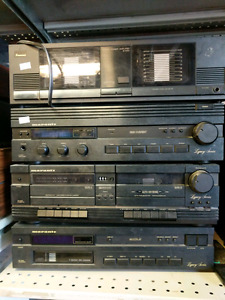 Marantz set and sansui amp