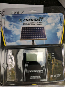 New unopened box RV solar panel and controller