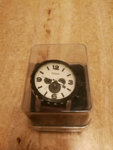 Fossil Men's Leather Watch
