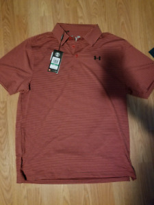 2 new with tags men's under armour t-shirts