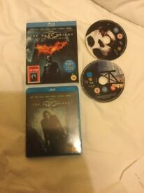 The Dark Knight Trilogy The Dark Knight Rises Batman Begins Blu-ray G