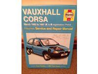 Vauxhall Corsa B Haynes