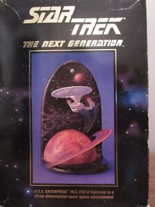 Star Trek TNG – USS Enterprise NCC-1701D 3D Figure (1994)