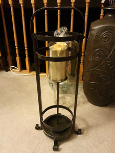 Rustic Candle Stand