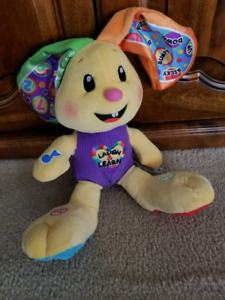 Fisher Price Laugh and Learn Musical Bunny Baby Toy