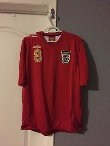 England official Soccer Jersey Kitchener / Waterloo Kitchener Area image 1