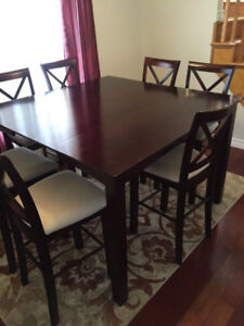 DINNING SET -TABLE PLUS 8 CHAIRS - GREAT VALUE!!!