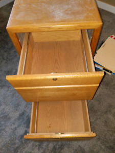 2  Drawer Solid Filing Cabinet
