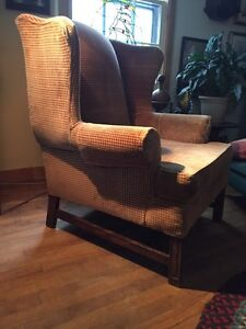 Wing Back chair - large size $150