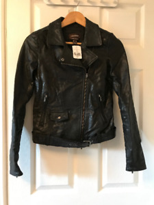 Danier leather motorcycle jacket  - NWT