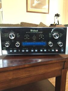 Mcintosh Mx 132 Pre Amplifier