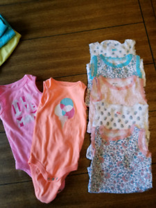 Baby Girl Summer Clothes 6 - 12mth Lot (Box 6)