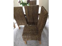 Dining chairs excellent quality set 5